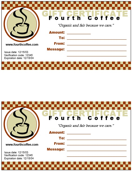 Here Is Preview Of Another Sample Meal Voucher Template Created Using MS  Word,