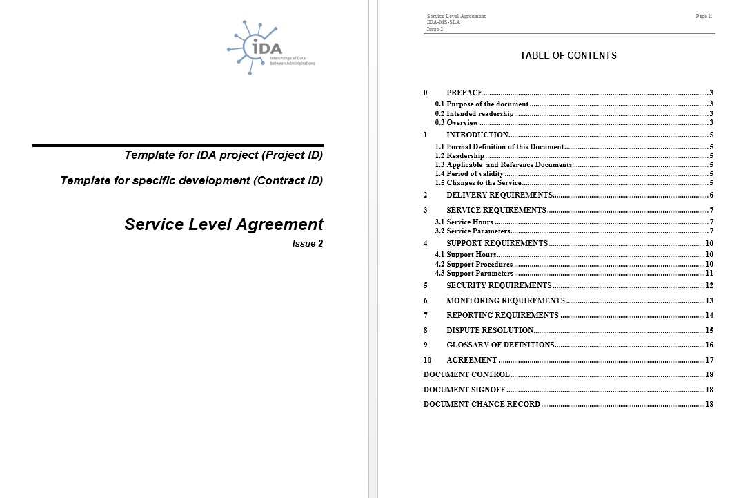 Service Contract Sample