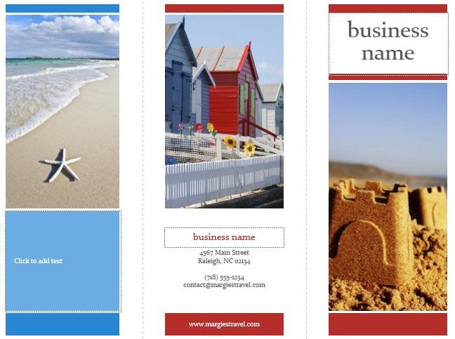 10 Free Sample Tourist Brochure Templates Printable Samples