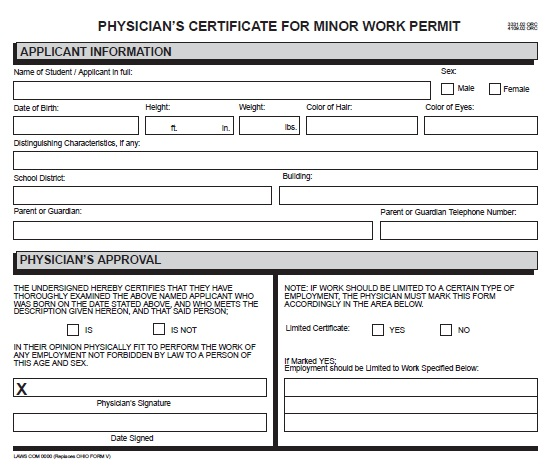 Work permit form template vocaalensembleconfianza work permit form template pronofoot35fo Image collections