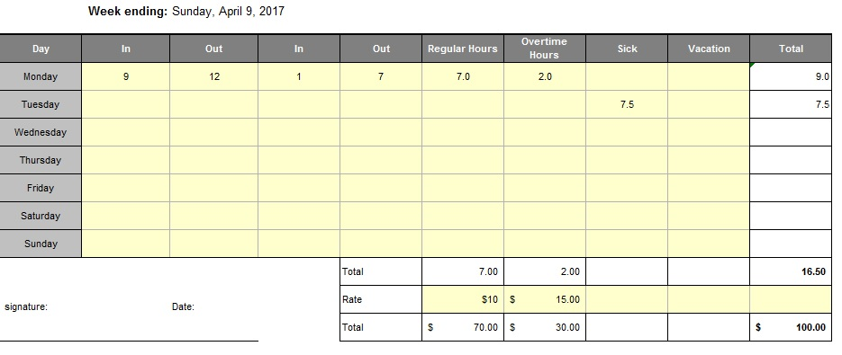 Here Is Preview Of Another Sample Teacheru0027s Attendance Sheet Template  Created Using MS Excel,