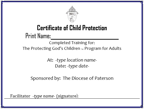 11 free sample training certificate templates printable samples here is preview of another sample training certificate template created using ms word yadclub Choice Image