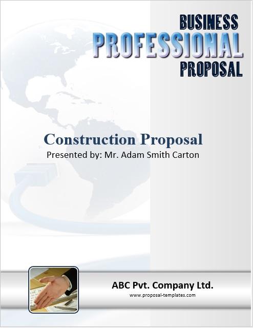 9 Free Sample Construction Proposal Templates Printable Samples