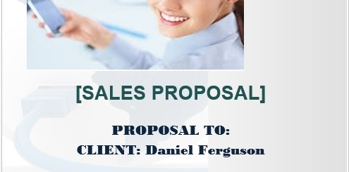 9 free sample sales proposal templates
