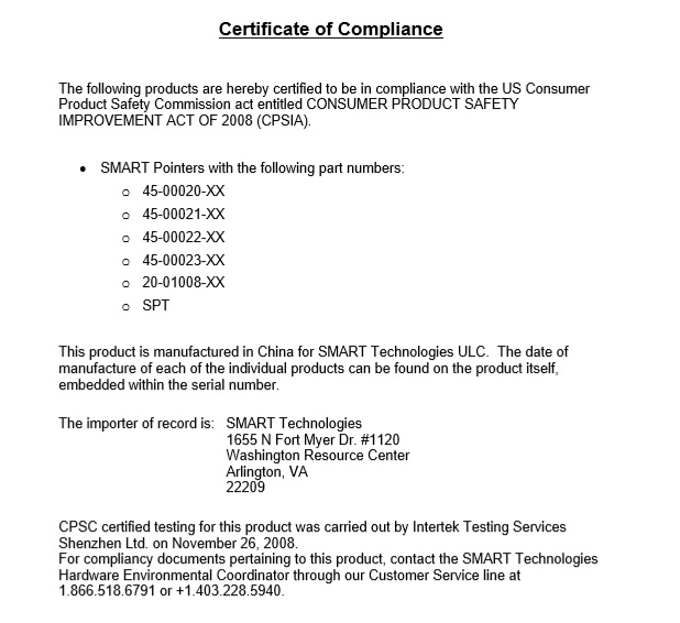 8 Free Sample Professional Compliance Certificate Templates