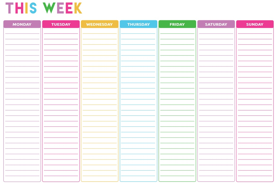 10 free sample weekly to do list templates printable samples