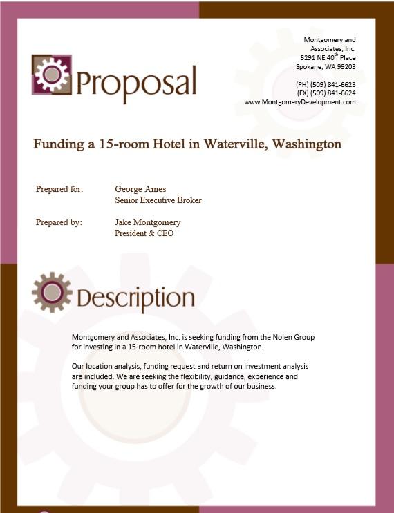 9 free sample real estate proposal templates printable. Black Bedroom Furniture Sets. Home Design Ideas