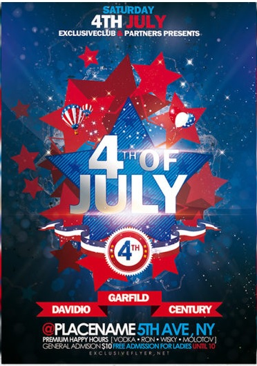 8 free sample 4th july flyer templates