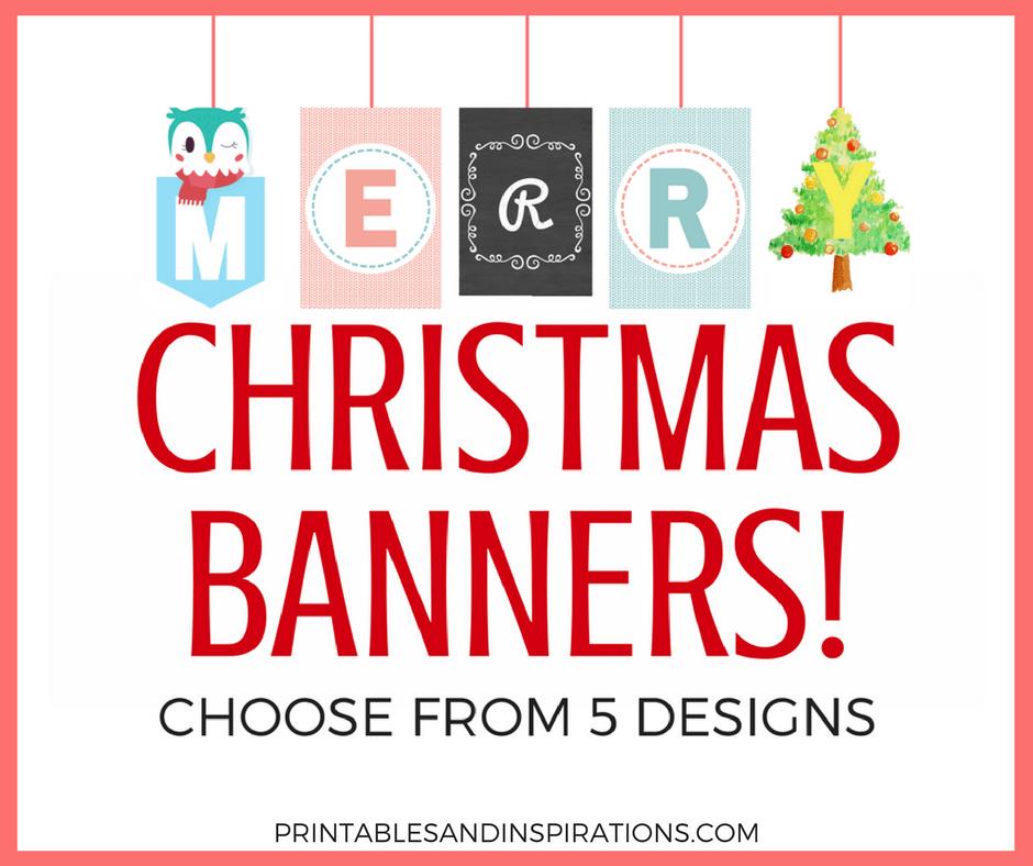 photo regarding Free Printable Christmas Banner called Albert Mae, Writer at Printables and Inspirations - Web site 2