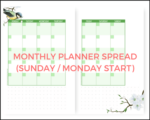 Free A5 Planner Printables For Any Year - Hello Spring ...