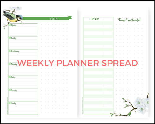 graphic relating to Weekly Planner Pages named Free of charge A5 Planner Printables For Any Yr - Howdy Spring