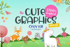 Cute graphics bundle