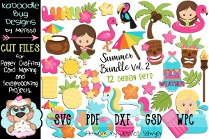 Free Cute Summer Stickers For Planner Or Scrapbooking Fun Printables And Inspirations
