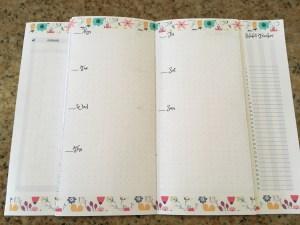 June weekly spread, June bullet journal layout, Dutch doors, June bujo ideas, bujo inspiration