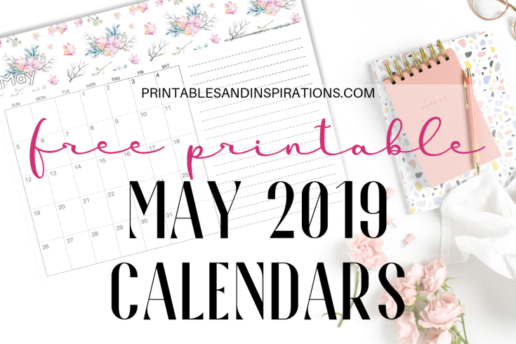 Calendars Monthly Planners Archives Printables And Inspirations
