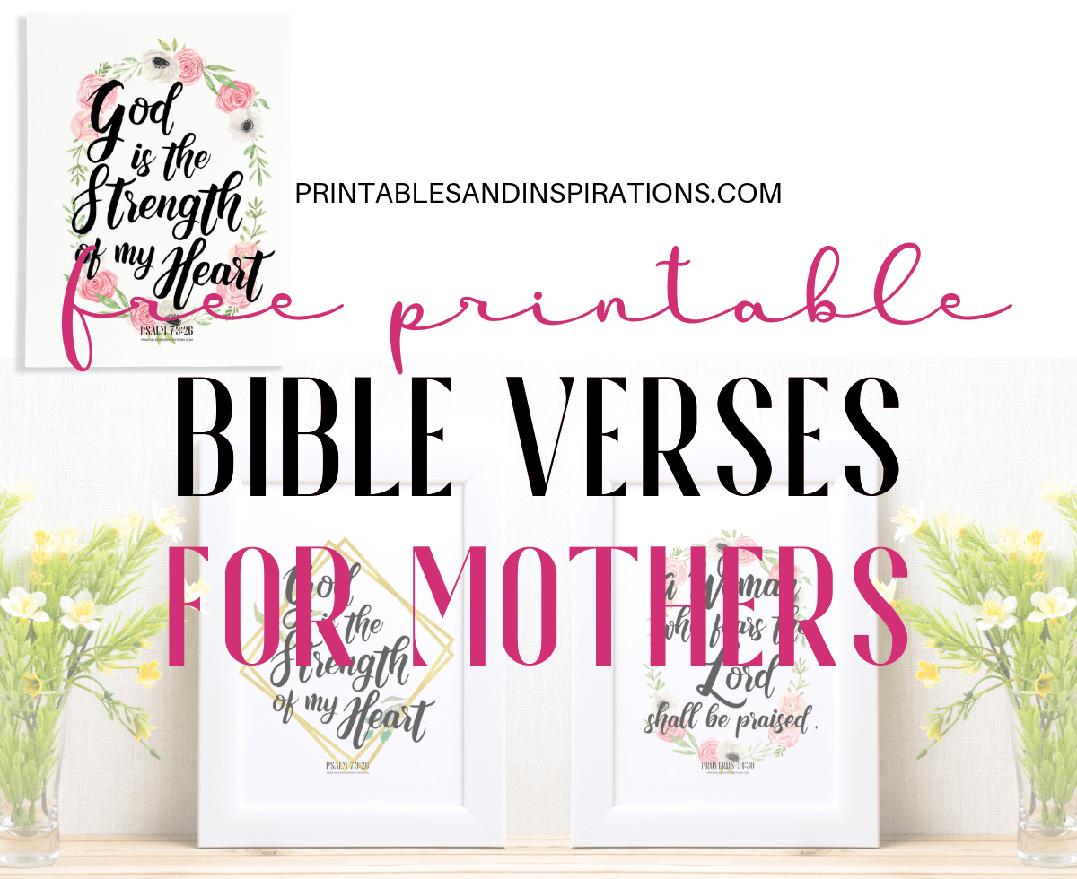 Bible Verses For Mothers