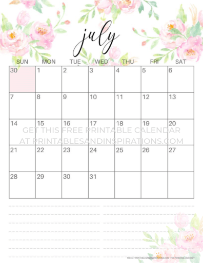 June 2019 To June 2020 Calendar Printable.Calendar June 2019 And July 2019 June July Events Calendar