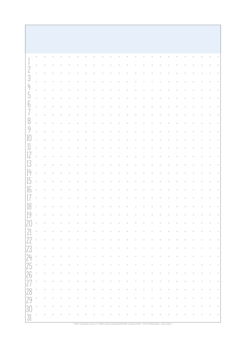 Stay Home Planner - free printable monthly log page. Download the complete planner template. #stayhome #freeprintable #printablesandinspirations #bulletjournal