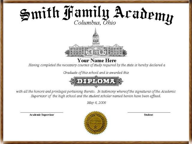 free diploma templates
