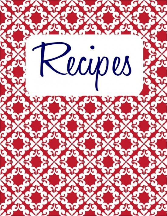 free editable recipe card templates for microsoft word free download
