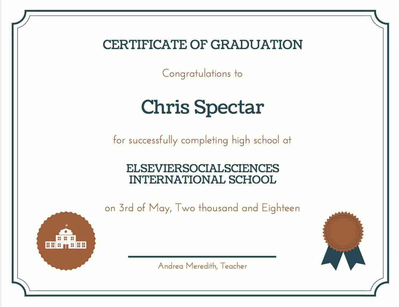 picture about Free Printable Diplomas referred to as 35+ Significant College Degree Template Obtain No cost!!!