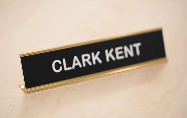 Desk signs/ desk plates