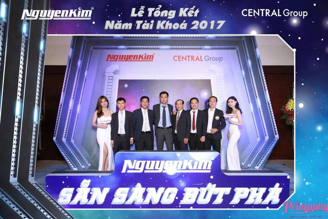 Tổ chức lễ kỷ niệm thành lập công ty & hội nghị tri ân khách hàng cùng Printaphy Photobooth Vietnam