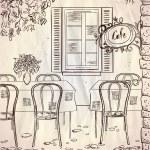 English Cafe D Print A Wallpaper More