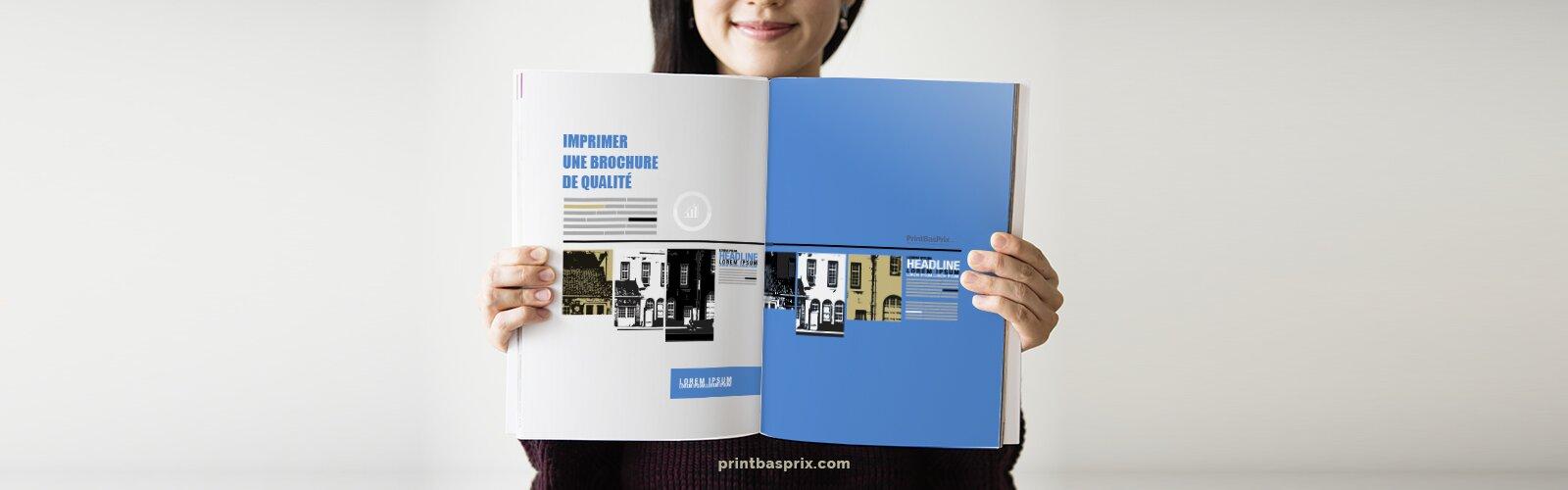 comment imprimer une brochure recto
