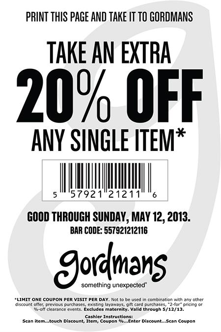 Shop Online Gordmans