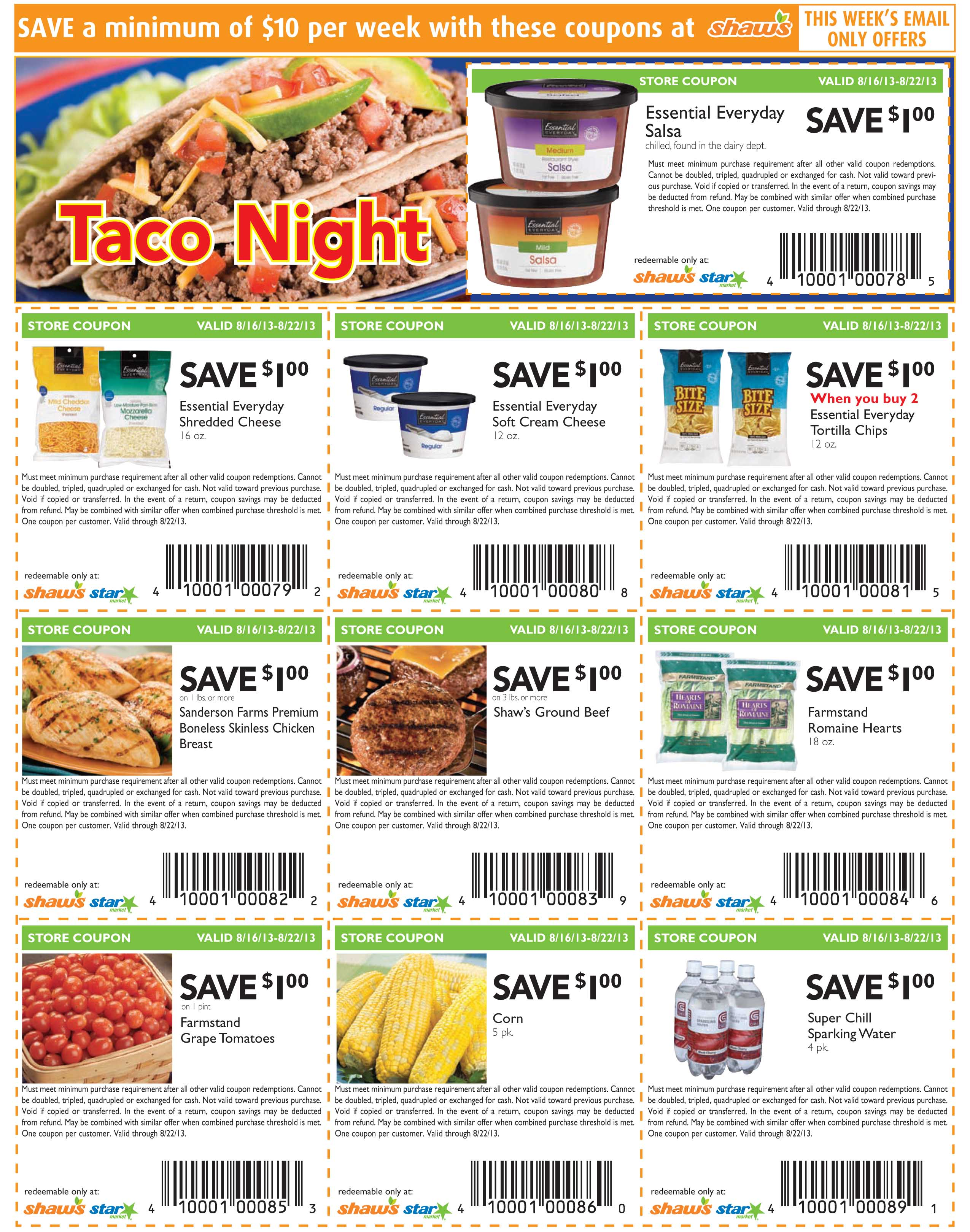 Shaw S Grocery Store Coupons