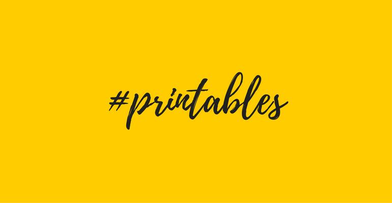 printed portal printables