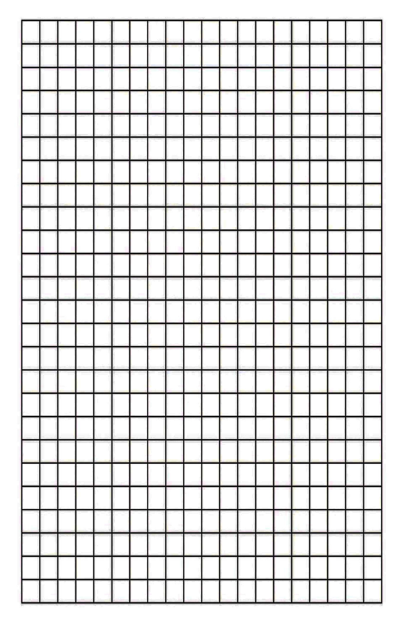 Free Printable Blank Graph Paper