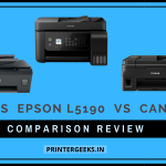 HP 530 Vs Epson L5190 Vs Canon G4010 Printer Comparison