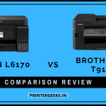 Epson L6170 Vs Brother MFC-T910DW Printer Comparison