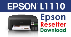 Epson L1110 Resetter Adjustment Program Free Download