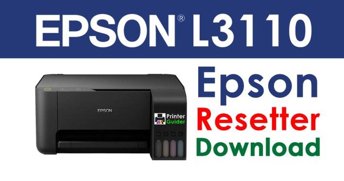 Epson L3110 Resetter Adjustment Program