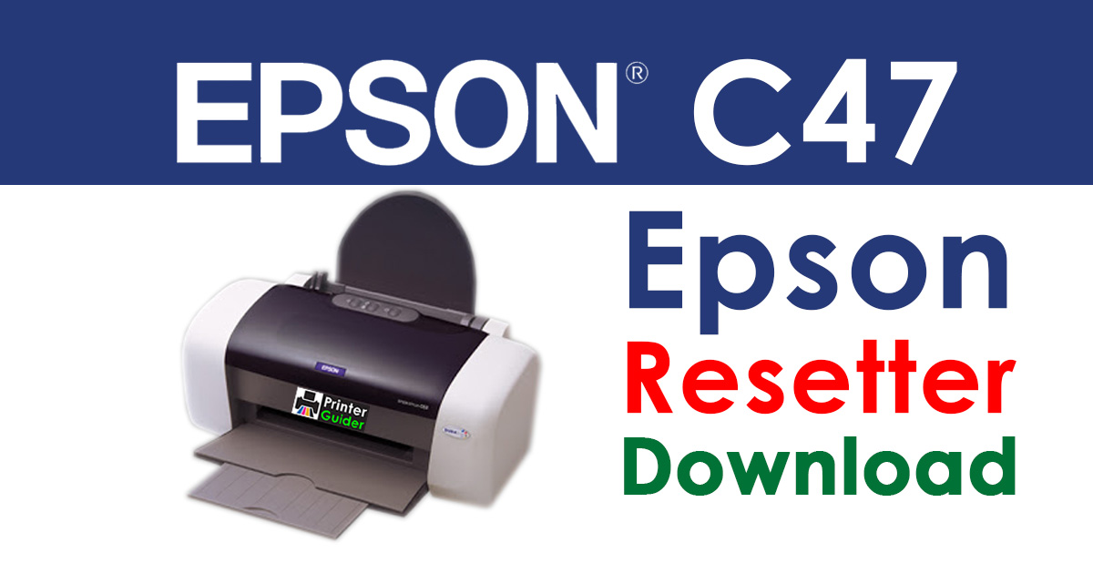 Epson Stylus C47 Resetter Adjustment Program Free Download