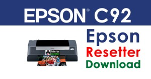Epson Stylus C92 Resetter Adjustment Program Free Download