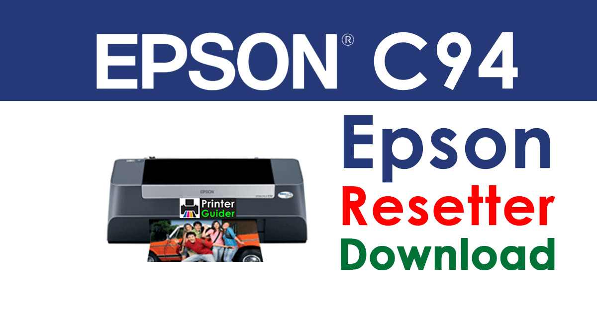 Epson Stylus C94 Resetter Adjustment Program Free Download