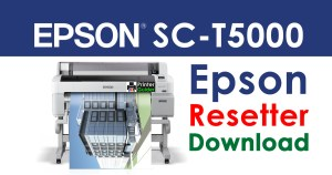 Epson SureColor SC-T5000 Resetter Adjustment Program
