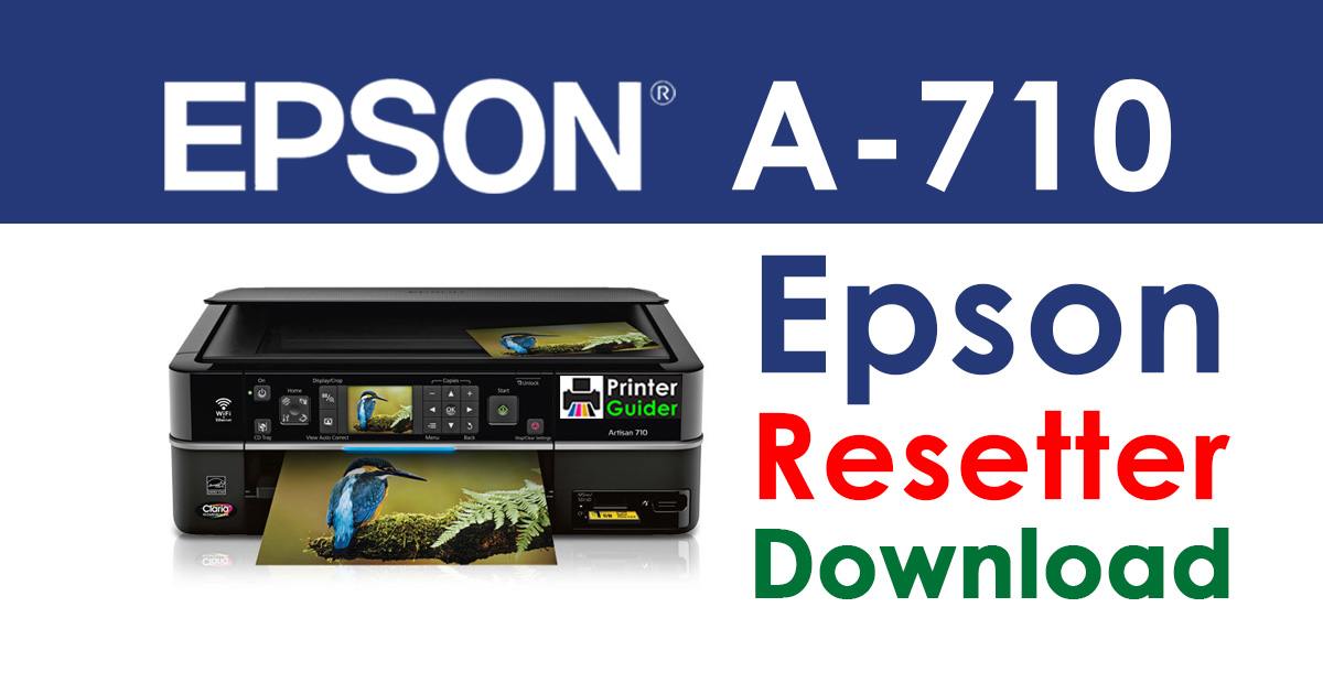 Epson Artisan 710 Resetter Adjustment Program Free Download