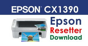 Epson Stylus CX1390 Resetter Adjustment Program Free Download