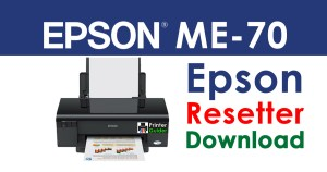 Epson ME Office 70 Resetter Adjustment Program Free Download