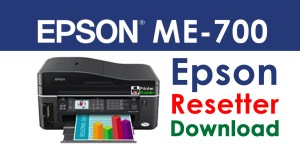 Epson ME Office 700 Resetter Adjustment Program Free Download
