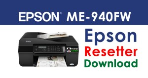 Epson ME Office 940FW Resetter Adjustment Program Free Download