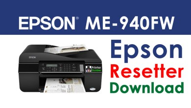 Photo of Epson ME Office 940FW Resetter Adjustment Program Free Download