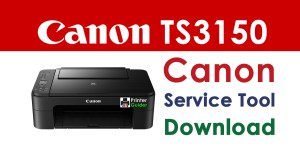 Canon Pixma TS3150 Resetter Service Tool Download