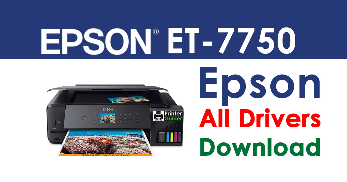 epson et 7750 printer driver free download