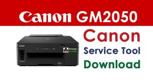 Canon Pixma GM2050 Resetter Service Tool Download